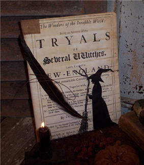 Tryals Journal Book-tryals, tryals journal, halloween journal book