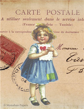 Little Girl Valentine - V63
