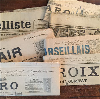 Vintage French Newspapers