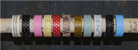 Washi Tape Assorted Styles-