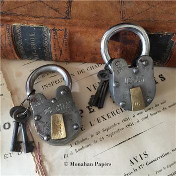 Vintage Style Locks - A