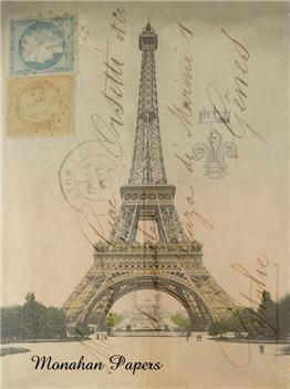 Fleur, Crown & Eiffel Tower  X208