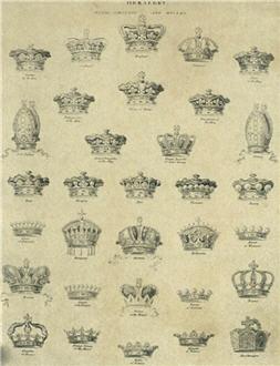 Heraldry Crowns - X28