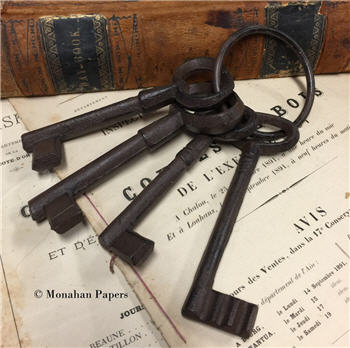 Jumbo keys - Set of 4