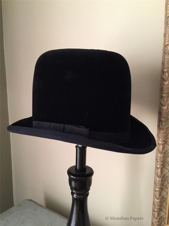 Bowler hat lamp shade large aloadofball Choice Image