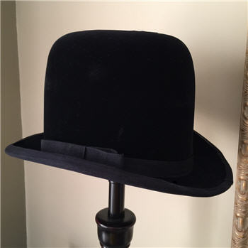 Bowler Hat Lamp Shade - Large
