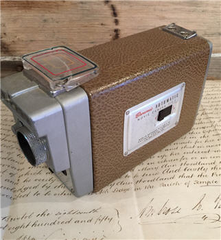 Vintage Brownie Automatic Movie Camera