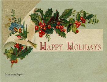Happy Holidays - C198