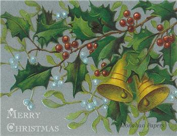 Merry Christmas Ivy & Bells - C227