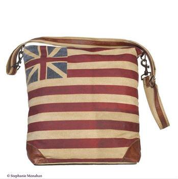 Continental Flag Messenger Bag