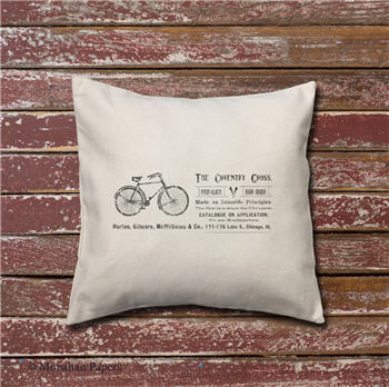 Coventry Cross Bike Pillow