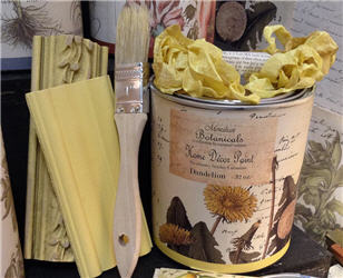 Dandelion Botanical Paint