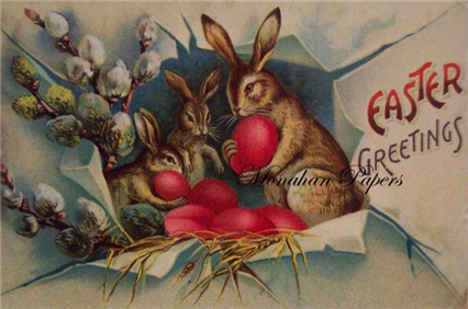 Easter Greetings - E45