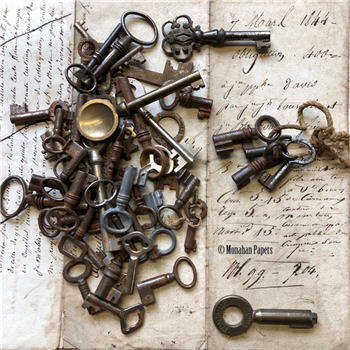 French Skeleton Keys - 1800's SMALL
