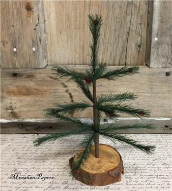 "Miniature 10"" Feather Tree"