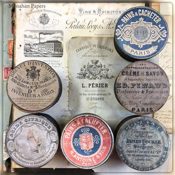 French Apothecary Boxes -