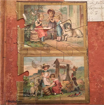 Antique French Puzzle