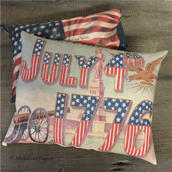 1776 Flag Pillow - ID2