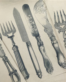 Knife, Fork & Spoon - KWSPS802