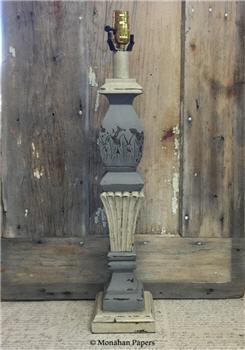 Carved Lamp Base - Large - CARVEDLG