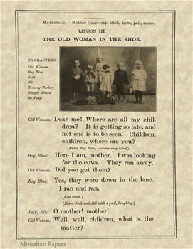 The Old Woman In The Shoe - SPS122