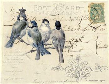Monsieur Blue Bird - SPS1379