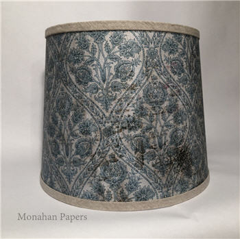 Blue French Wallpaper Lamp Shade - SPS1530LS