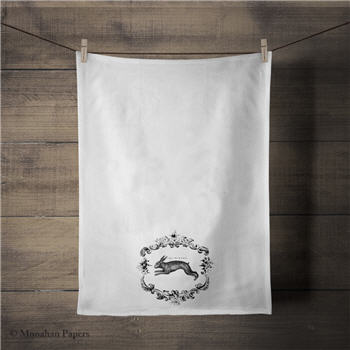 The Hare Tea Towel - SPS390TT