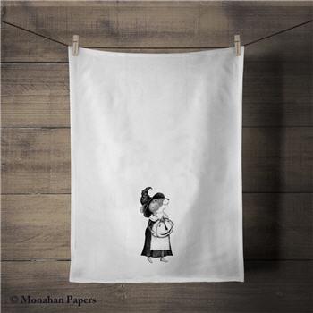 Pumpkin Mouse Tea Towel - SPS713TT