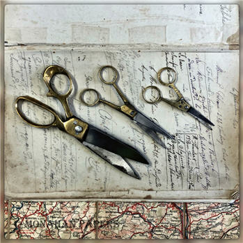 Metal & Brass Tailor & Barber Scissors 2