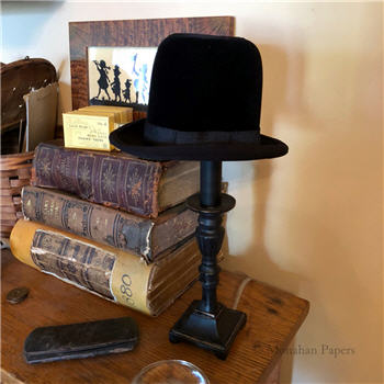 Bowler Hat Lamp Shade Small