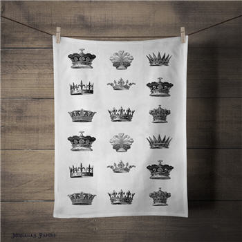 Crowns Tea Towel - TTCROWNS