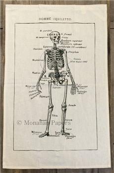 French Skeleton Tea Towel - SPS140TT