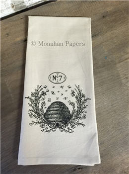 NO. 7 & Bee Hive Tea Towel - SPS900TT