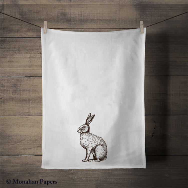 Bunny Tea Towel - ZBTT1