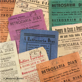 Antique Paper Bundles - Ephemera - Scrap booking - Antique - Decoupage