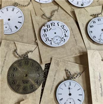 Antique Watch Face Necklace
