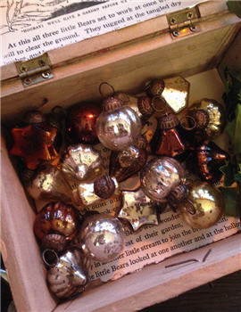 Glass Baubles - Set of Six