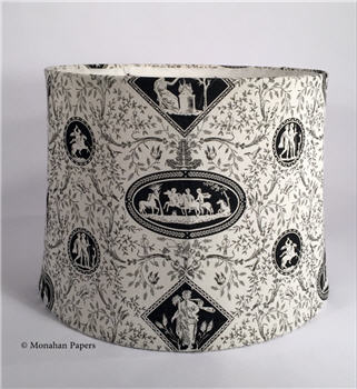 Black & White Toile Lamp Shades - BWTOILE