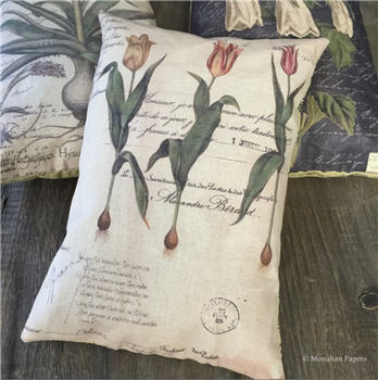 Botanical Tulips Pillow - BOT2PIL