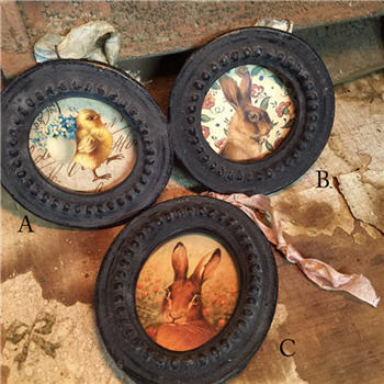 Beeswax Bunny Frames