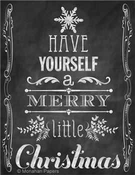 Have Yourself a Merry Little Christmas - C133