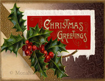 Christmas Greetings - C211