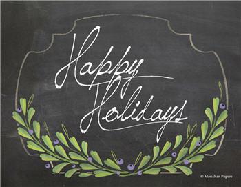 Happy Holidays - C242