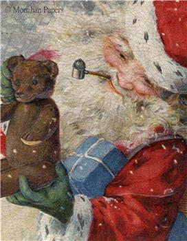 Santa and Bear - C334
