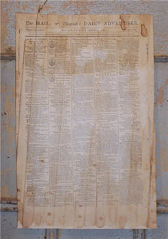The Daily Advertiser Paper Sheet