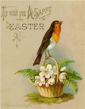 To Wish You A Happy Easter Card - E29