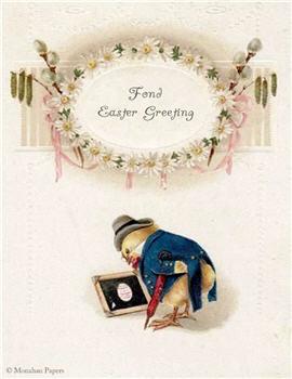 Fond Easter Greeting - E90