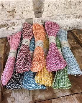 Eco Paper Striped Ribbon - 54 Yards