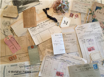French Ephemera Kits - Antique & Vintage